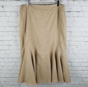 DALIA   100% linen lined mermaid style skirt